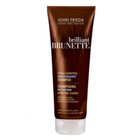John Frieda Brilliant Brunette - Увлажняющий шампунь для защиты цвета темных волос 250 мл<br>