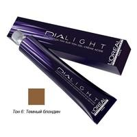Купить L'Oreal Professionnel Dialight - Краска для волос Диалайт 6 Темный блондин 50 мл