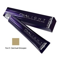 LOreal Professionnel Dialight - Краска для волос Диалайт 8 Светлый блондин 50 мл<br>