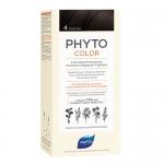 Фото Phyto Color - Краска для волос Шатен, оттенок 4, 1 шт