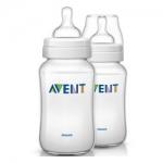 Фото Avent Classik - Бутылочка для кормления, 330 мл, 2 шт.