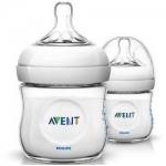 Фото Avent Natural - Бутылочка для кормления, 125 мл, 2шт.