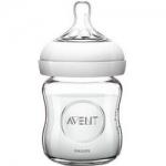 Фото Avent Natural - Бутылочка для кормления, Стекло 120 мл, 1 шт.
