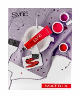 Купить Matrix Color Sync - Крем-краска без аммиака, 4RV+ шатен красно-перламутровый, 90 мл