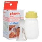 Фото Pigeon SofTouch - Бутылочка с ложечкой для кормления с 3 месяцев, 120 мл