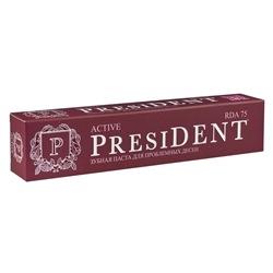 Фото President Active - Зубная паста для проблемных десен, 50 мл