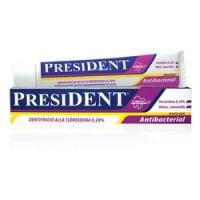President Antibacterial - Зубная паста-гель, 50 мл