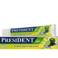 President Junior - Зубная паста, для детей от 6 до 12 лет, со вкусом лимонада, 50 мл