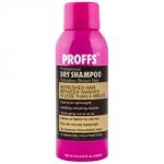 Proffs Dry Shampoo - Шампунь для темных волос, Сухое очищение 3 в 1, 150 мл