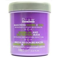 Punti Di Vista Draw Jojoba Oil And Silk Proteins Mask - Маска для волос с маслом жожоба и шелковых протеинов, 1000 мл фото