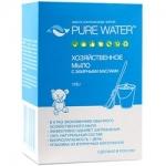 Фото Pure Water - Мыло хозяйственное с эфирными маслами, 175 г