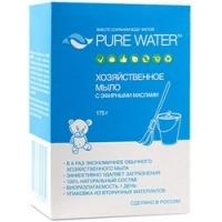 Pure Water - Мыло хозяйственное с эфирными маслами 175 г.