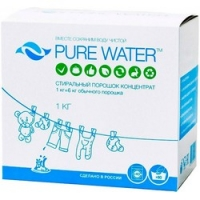 Pure Water - Стиральный порошок 1000 г.