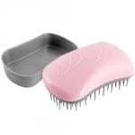 Dessata Hair Brush Mini Pink-Silver - Расческа для волос, Розовый-Серебро