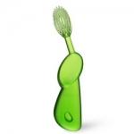 Фото Radius Toothbrush Original - Зубная щетка мягкая классическая для левшей, зеленая