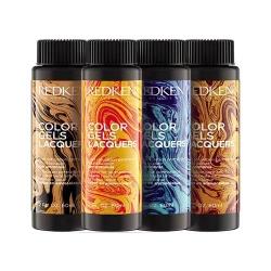 Фото Redken - Краска-лак для волос Колор Гель, 4 NN Coffee Grounds, 3*60 мл