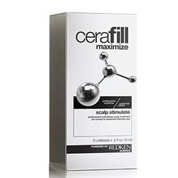 Redken Cerafill Hair Advance with Aminexil - Ампулы двойного действия против истончения волос
