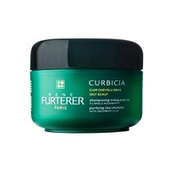 Rene Furterer Curbicia Shampoing Purifiant - Шампунь-маска очищающий для жирной кожи 200 мл