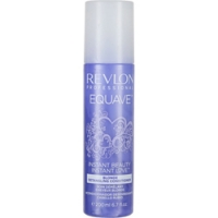 Купить Revlon Equave Instant Beauty Blonde Detangling Conditioner - Кондиционер, несмываемый 2-х против желтизны, 200 мл, Красители для волос