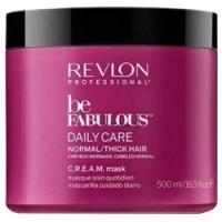 Купить Revlon Professional Be Fabulous C.R.E.A.M. Mask - Маска для нормальных, густых волос, 500 мл