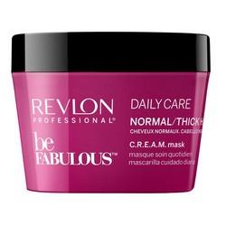 Фото Revlon Professional Be Fabulous C.R.E.A.M. Mask - Маска для нормальных, густых волос, 200 мл