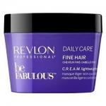 Фото Revlon Professional Be Fabulous C.R.E.A.M. Mask For Fine Hair - Маска для тонких волос, 250 мл