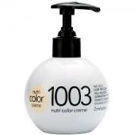 Фото Revlon Professional Nutri Color Creme - Краска для волос 1003 Интенсивный светло-золотой, 270 мл