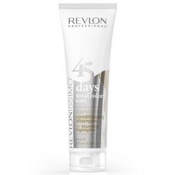 Фото Revlon Professional Shampoo&Conditioner Highlights - Шампунь-кондиционер для мелированных волос, 275 мл