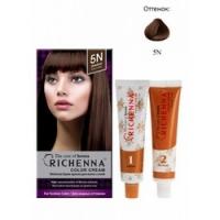 Richenna Color Cream 5 n - Крем-краска для волос с хной, каштановыйRichenna Color Cream 5 n - Крем-краска для волос с хной, каштановый  купить по низкой цене с доставкой по Москве и регионам в интернет-магазине ProfessionalHair.<br>
