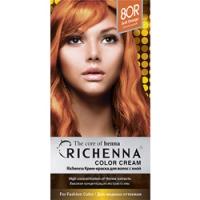 Richenna Color Cream 8 or - Крем-краска для волос с хной, светло-русый фото