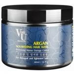 Фото Richenna Von-U Argan Nourishing Hair Mask - Маска для волос питательная с аргановым маслом, 480 мл