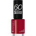 Фото Rimmel 60 Seconds Super Shine Double Decker Red - Лак для ногтей, тон 310 красный, 8 мл