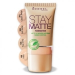 Фото Rimmel Stay Matte Foundation - Тональный крем № 100