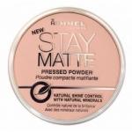 Фото Rimmel Stay Matte Pink Blossom - Пресс-пудра, матирующая, тон 002, 14 г