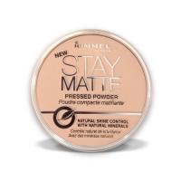 Rimmel Stay Matte Pressed Powder Silky Beige - Cпресованная пудра Re-pack 005 тон