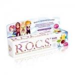Фото R.O.C.S. - Зубная паста, фруктовый рожок без фтора, 45 гр
