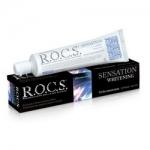 Фото R.O.C.S. - Зубная паста, Сенсационное отбеливание, 74 гр