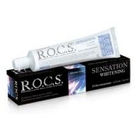 Купить R.O.C.S. - Зубная паста, Сенсационное отбеливание, 74 гр
