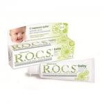 Фото R.O.C.S. Baby - Зубная паста, Душистая Ромашка, 45 гр.