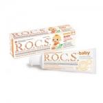 Фото R.O.C.S. Baby - Зубная паста, Нежный уход с экстрактом Айвы, 45 гр