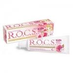 Фото R.O.C.S. Kids Sweet Princess - Зубная паста с ароматом Розы, 45 г