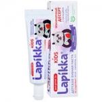 Фото R.O.C.S. Lapikka Kids - Зубная паста Земляничный десерт с кальцием, 45 гр