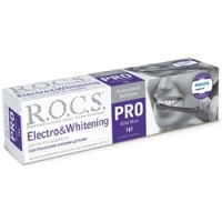 Купить R.O.C.S. Pro Electro & Whitening Mild Mint - Зубная паста, 135 гр