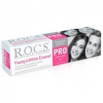 Фото R.O.C.S. Pro Young & White Enamel - Зубная паста, 135 гр