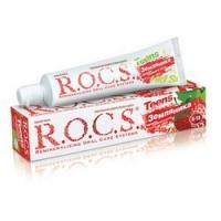 Купить R.O.C.S. Teens - Зубная паста, Земляника, 74 гр.