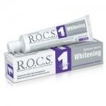Фото R.O.C.S. Uno Whitening - Зубная паста, Отбеливание, 74 гр.