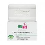 Фото Sebamed  Sensitive Skin olive cleansing bar - Мыло для лица оливковое, 150 гр.