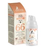 Купить Sativa - ВВ-крем ухаживающий SPF 15, №66 Rose Beige , 30 мл