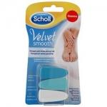 Фото Scholl Velvet Smooth - Сменные насадки для электрической пилки для ногтей, 3 шт
