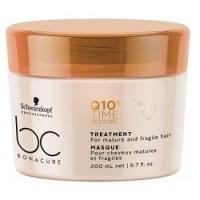 Schwarzkopf BC Bonacure Q10+ Time Restore Treatment - Смягчающая маска для зрелых волос, 200 мл